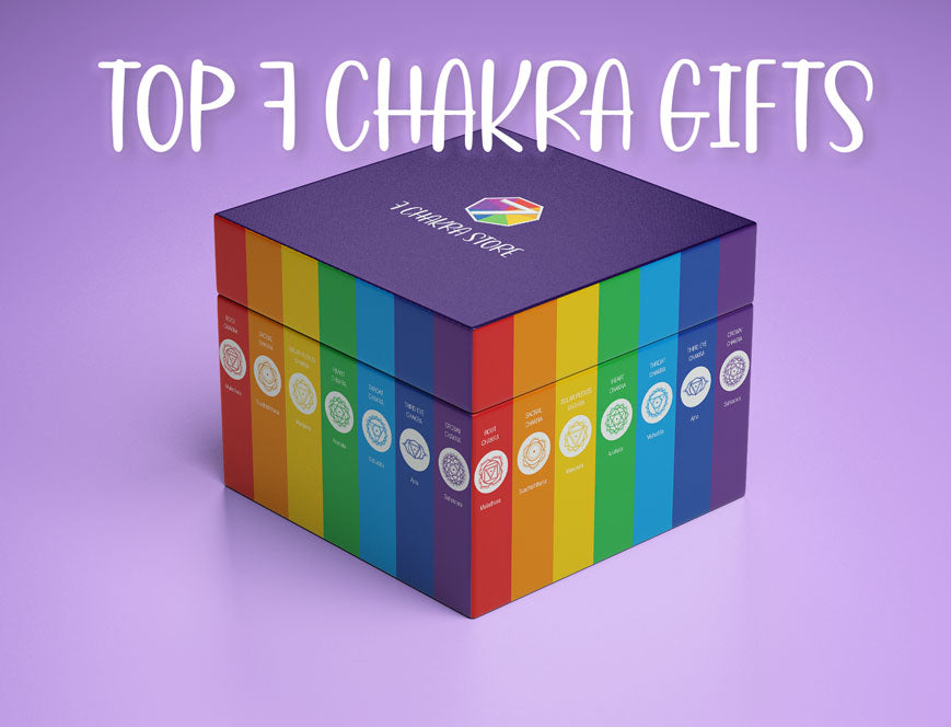Best Chakra Gifts To Buy - Spiritual Meditation Yoga Gift Ideas