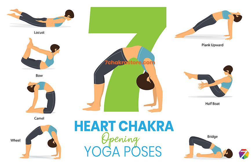 7 Yoga Poses for Opening Heart Chakra