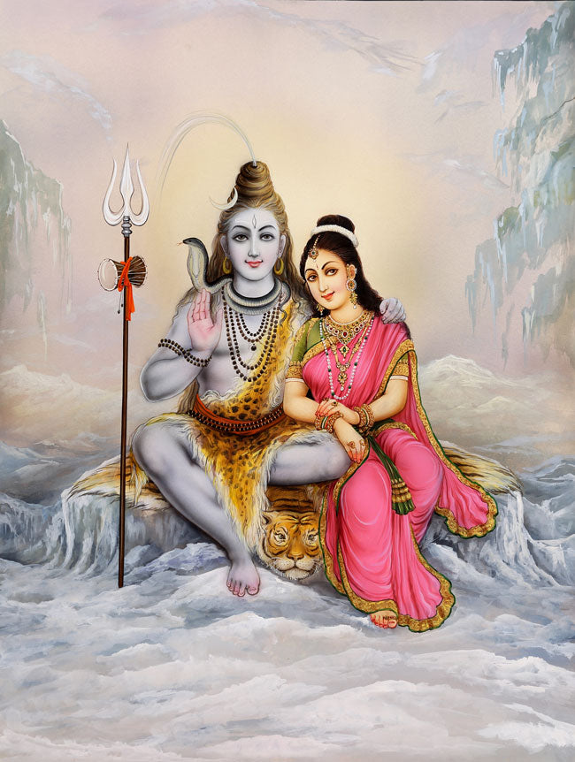 Shiva and Shakti Twin Flames