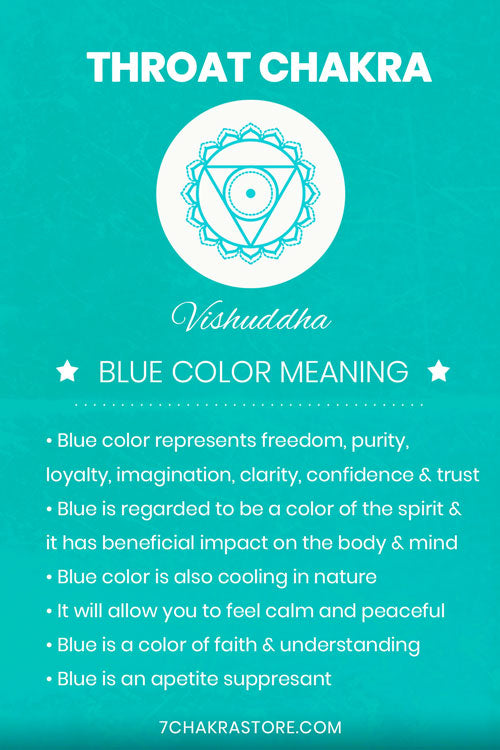 Throat Chakra Blue Color Meaning