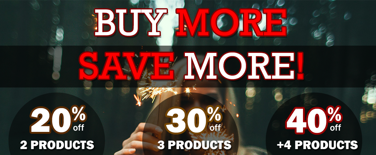 Buy More Save More 2019 New Year Sale