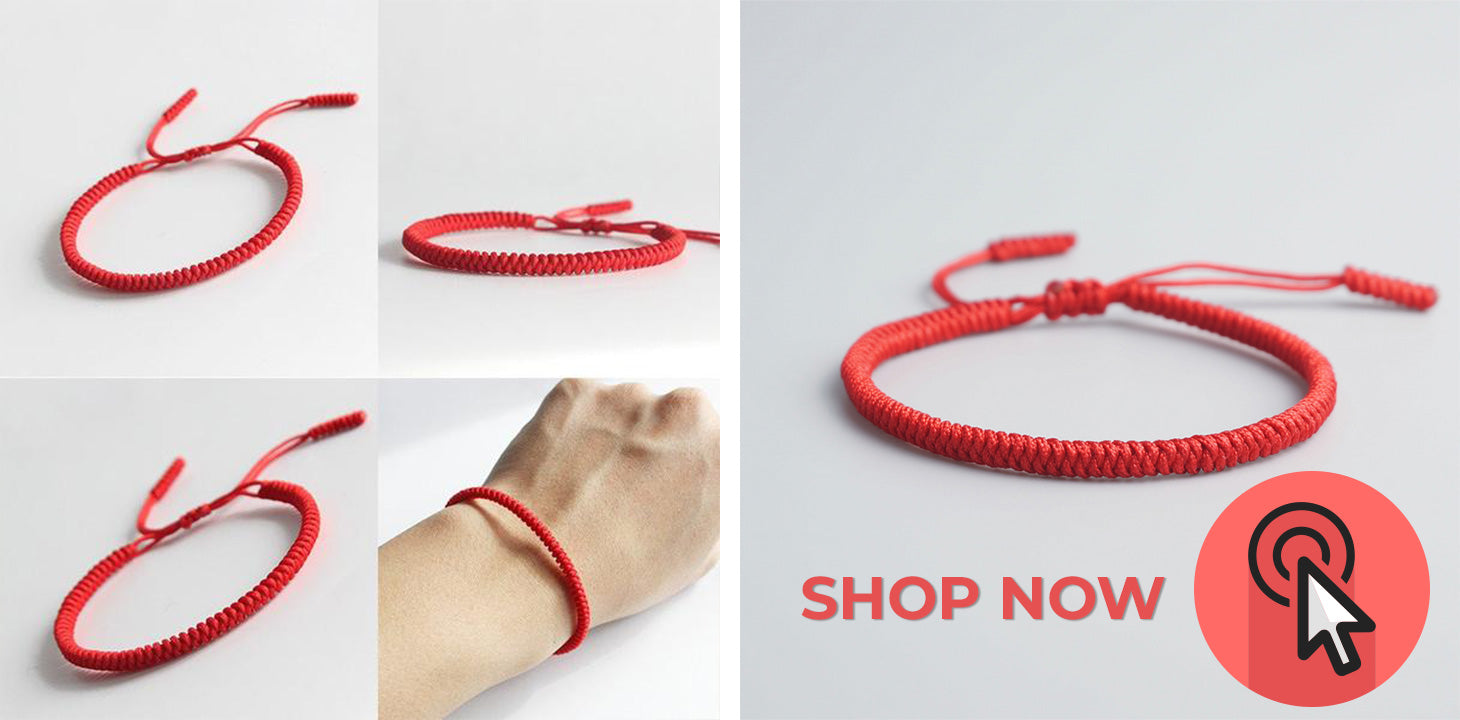 Buy Tibetan Buddhist Red String Kabbalah Lucky Bracelet