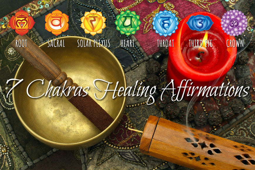 Chakra Affirmations - 7 Chakras Healing Affirmations Comprehensive List