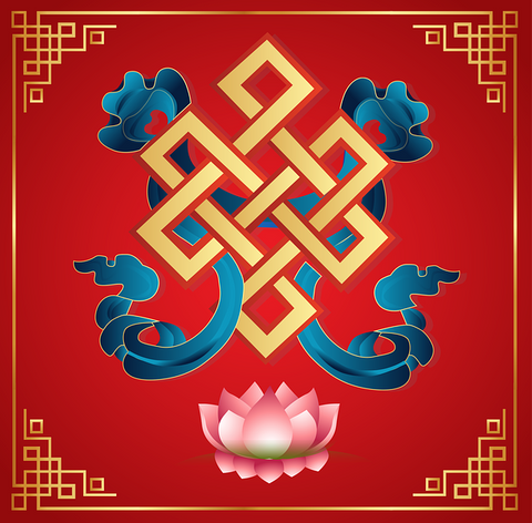 Endless Knot TIbetan Buddhism