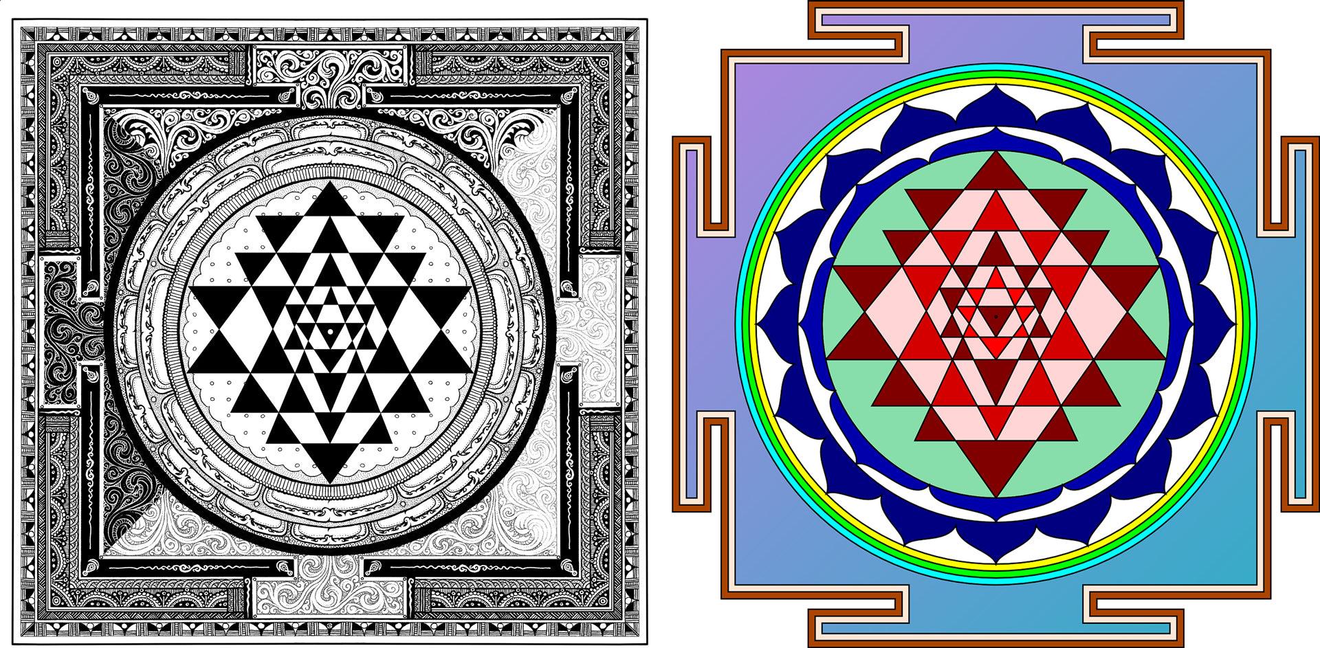 What Is The Meaning Of Sri Yantra Symbol 7 Chakra Store