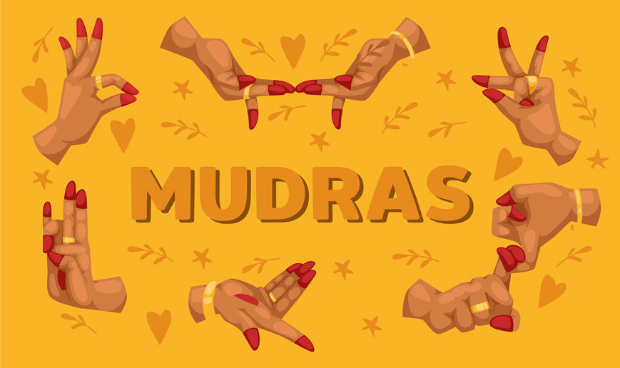 Mudras Hand Positions - Mudra Meaning & Mantra Meaning