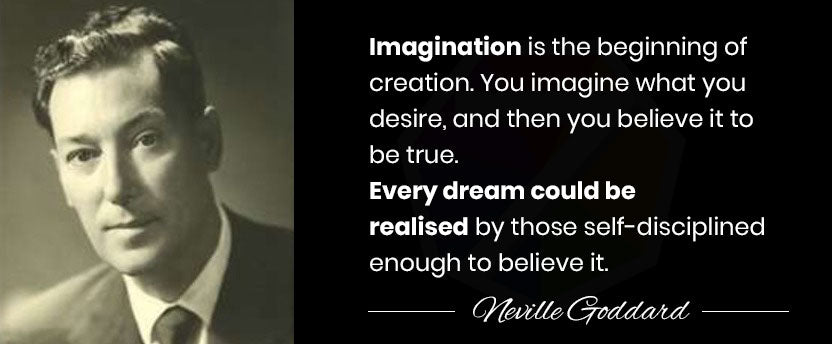 Neville Goddard Imagination Quote