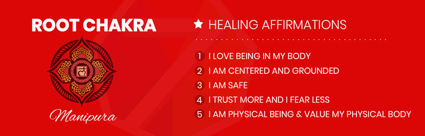 Root Chakra Affirmations