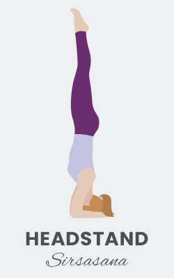 Supported Headstand Pose - Sirsasana Yoga Posture