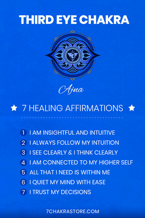 Third Eye Chakra Affirmations