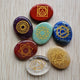 7 Chakras Stones engraved with Reiki Signs - 7 Chakra Store