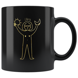 Libra Zodiac Star Sign Coffee Mug