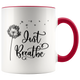Just Breathe Accent Mug