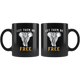 Let Elephants Be Free Mug