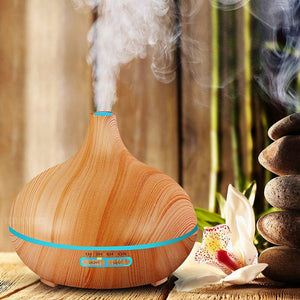 Ultrasonic Air Humidifier and Oil Diffuser 400ml - 7 Chakra Store