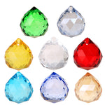 12pc/lot 20mm Colorful Crystals - 7 Chakra Store