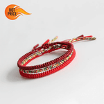 Tibetan Buddhist Lucky String Bracelets | 3PCS Protection
