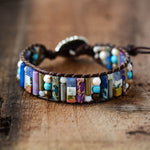 Amihan Boho Leather Wrap Bracelet