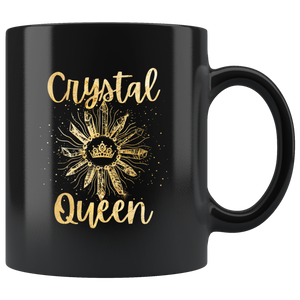 Crystal Queen Gold Lettering Mug