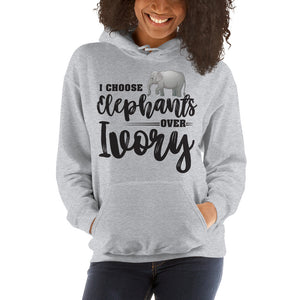 Choose Elephants Unisex Hoodie