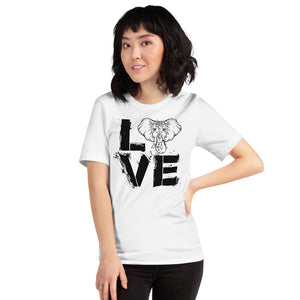 Love Elephant Unisex T-Shirt