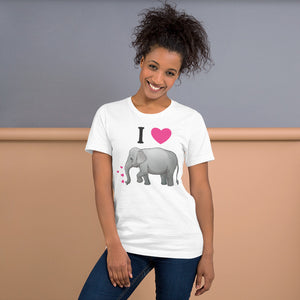 Elephant Love Unisex T-Shirt