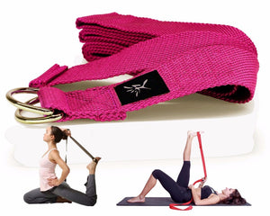 2 Pieces of Eco Friendly Yoga Blocks With Yoga strap - 7 Chakra Store
