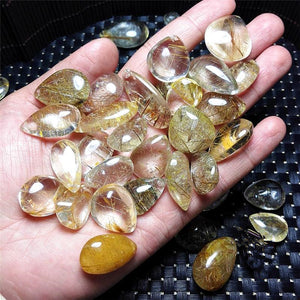 Rare Rutilated Quartz Stones (50g bag) - 7 Chakra Store