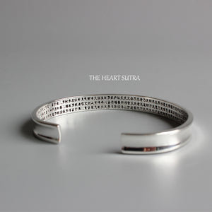The Heart Of Pranja Paramita Sutra Bangle - 7 Chakra Store