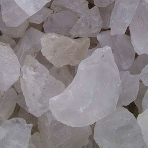 White Quartz Crystal Natural Stone (50g bag) - 7 Chakra Store