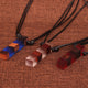 Cuboid Ethnic Crystal necklace - 7 Chakra Store