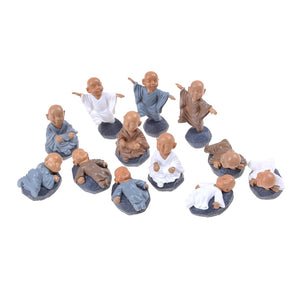 Little Buddha Baby Monks Miniature Statues