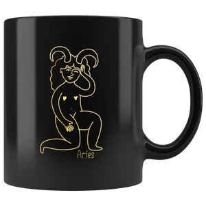 Aries Zodiac Star Sign Coffee Mug