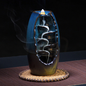 Mountain River Backflow Incense Burner - 7 Chakra Store