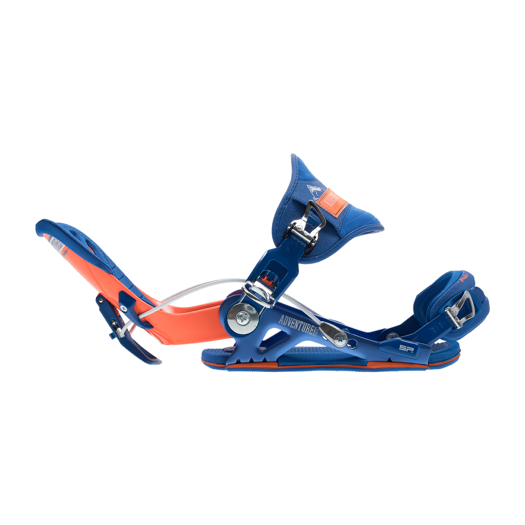 SP Mountain 18/19 Snowboard Binding Shown In Orange