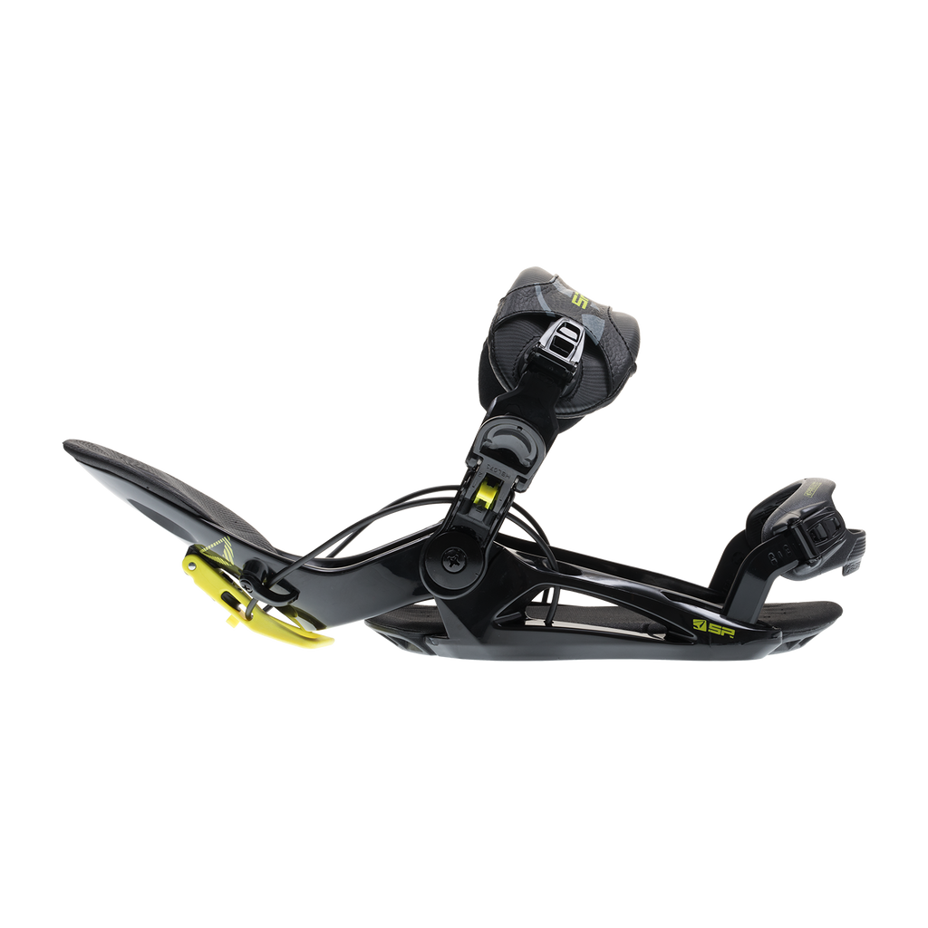 SP Private 18/19 Snowboard Binding Shown In Black
