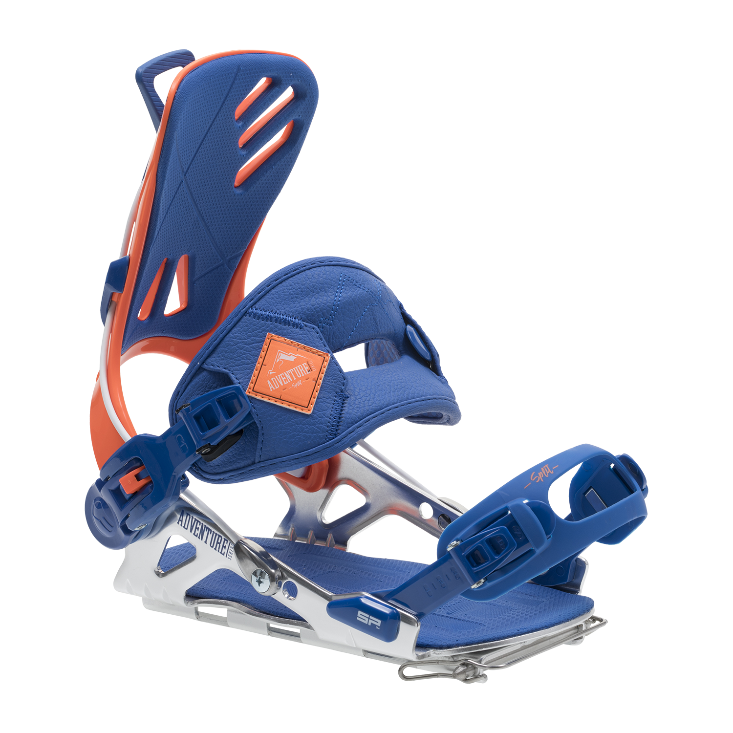SP FT Split 18/19 Snowboard Binding Shown In Orange