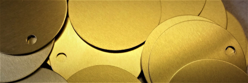 Brass Blank Tags: Durable & Versatile