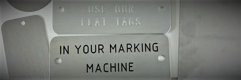 Embossing Machine Tags