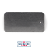 "Aluminum Blank Metal Tag - .032"" x 2"" x 4"" - One Hole"