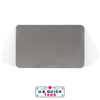 "Stainless Steel Blank Metal Tag - .016"" x 2.125"" x 3.375"" - No Holes"