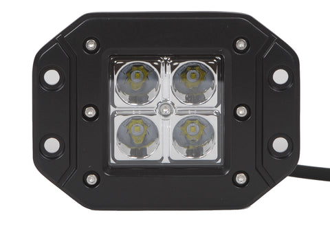 "4"" Square Flush Mount 12W LED (Spot or Flood)"