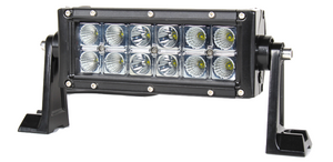 "7.5"" Straight Double Row 36W LED (Spot, Flood or Combo)"