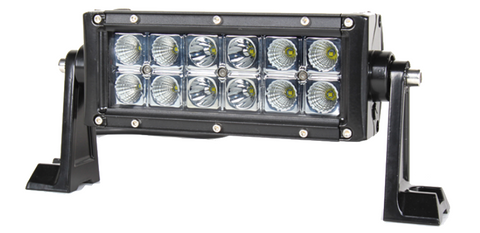 "7.5"" Straight Double Row 36W LED (Spot or Flood)"