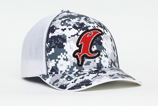 Digital Camo Fitted Hat