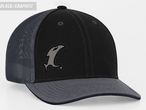 Back-in-Black Fitted Hat