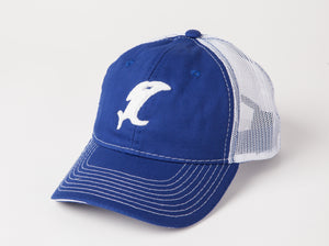 Vintage Blue/White Cap