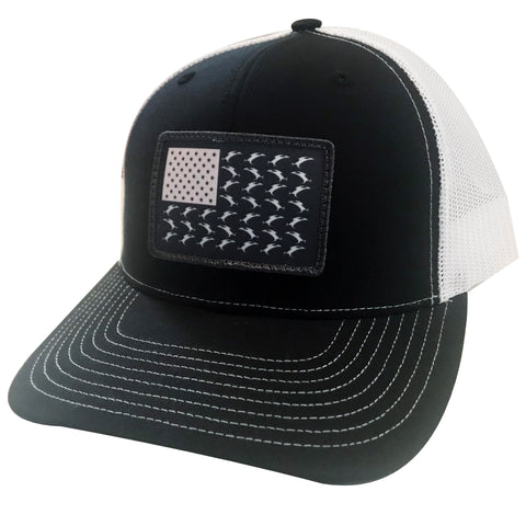 Vicious Flag Patch Adjustable Hat - Black