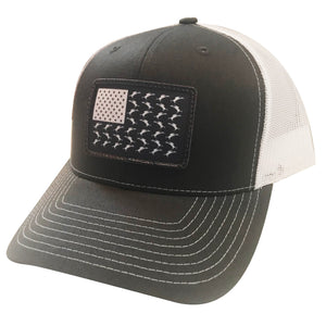 Vicious Flag Patch Adjustable Hat - Charcoal