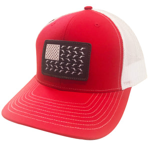 Vicious Flag Patch Adjustable Hat - Red